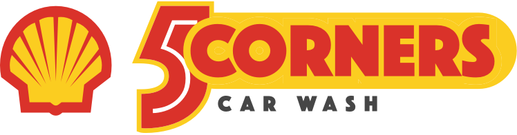 5 Corners Car Wash logo